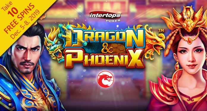 New 'Dragon & Phoenix' Chinese Slot from Betsoft at Intertops Poker