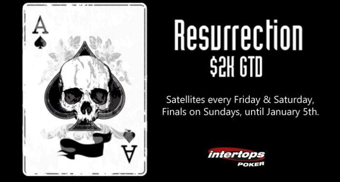 Blackjack Bonuses for Winning Hands Next Week at Intertops Poker