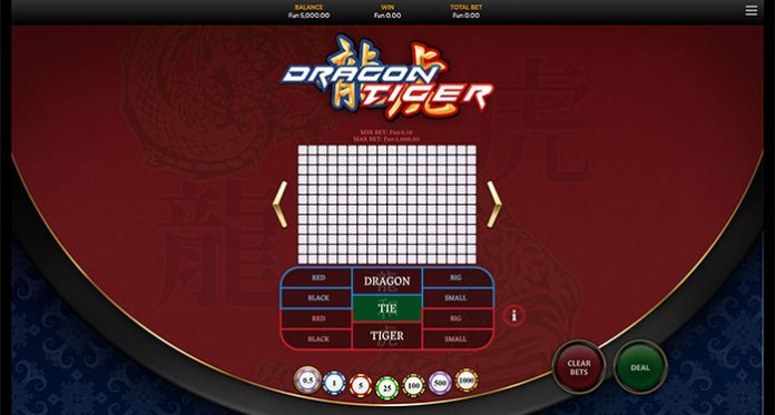 OneTouch Unveils its Latest Table Games Title Dragon Tiger
