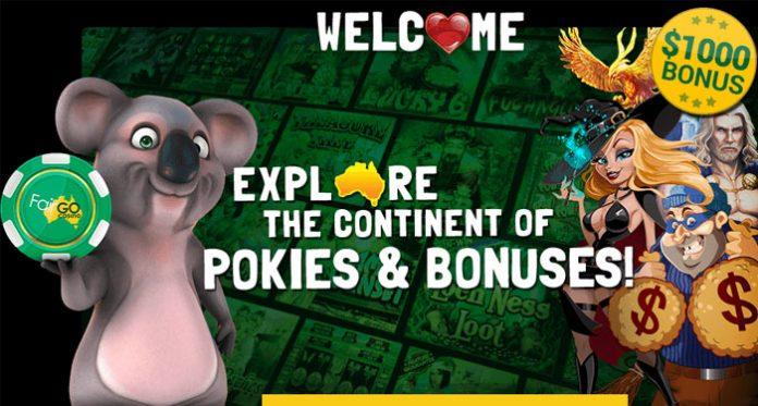 Get Get $1000s in Promotional Cash at Aussie's #1 FairGo Casino