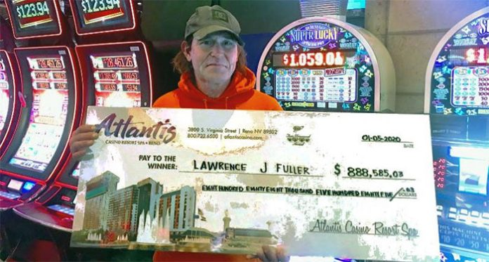 Life Changing Jackpot Win for an Unemployed Reno Man