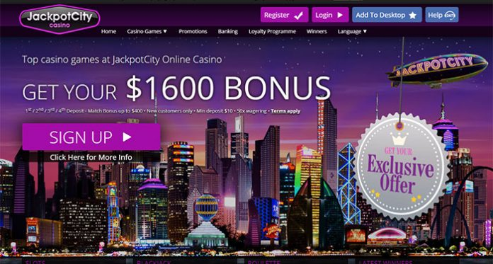 Become Loyalty with Jackpot City's Free to Join Rewards Program