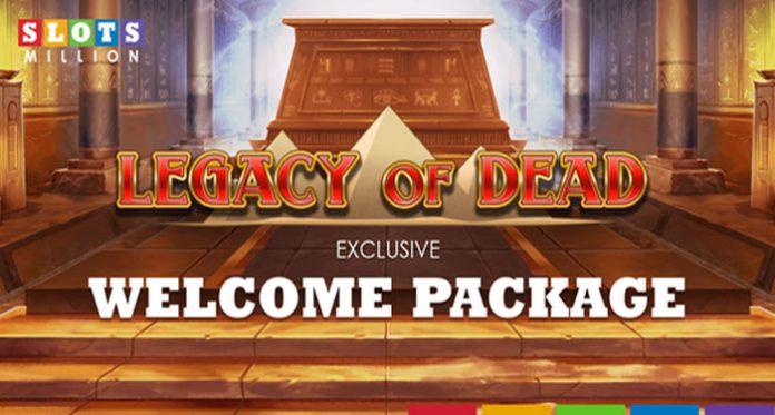 Slots Million's Legacy of the Dead Promotion Bonus
