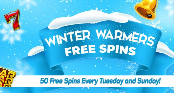 Winter Warmers 50 Free Spins Every Tuesday and Sunday Await All Month Long at Downtown Bingo