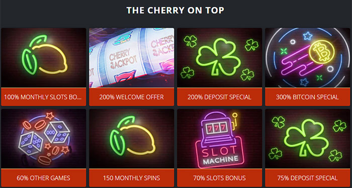 Don T Forget To Claim Your Monthly Slot Bonus At Cherry Jackpot