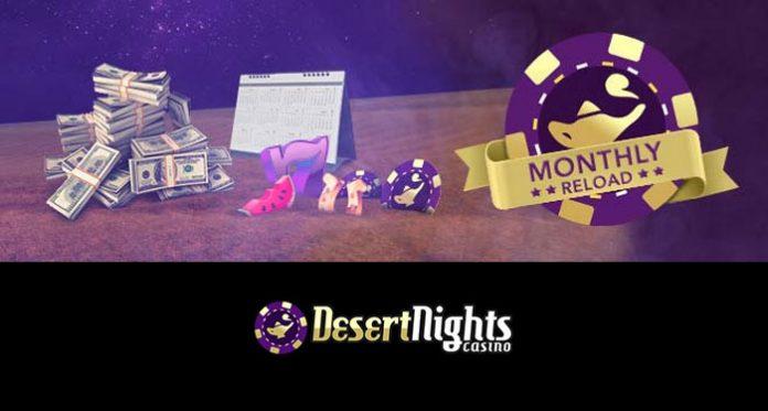 Desert Nights Weekend Bankroll Boost, $885 + 177% deposit bonus