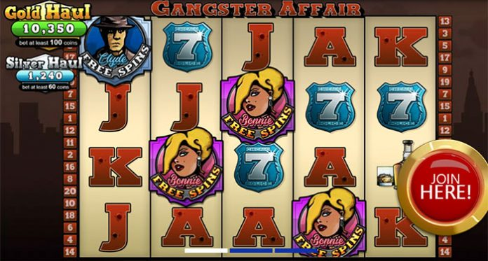 Receive a Special Game of the Month Bonus on Gangster Affair at WinADay