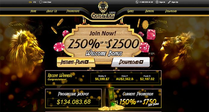 Golden Lion Casino Bonuses