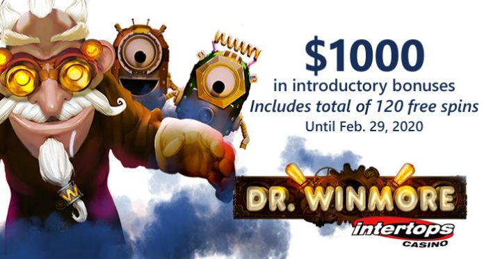 Casino Goes Mad with Bonuses for Launch of New Dr. Winmore Slot