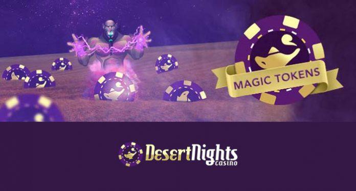 Monday Magic Token Rewards When You Play Desert Nights Casino