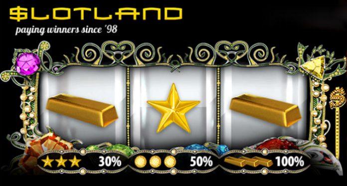 Get Weekly Special Match Bonuses at Slotland