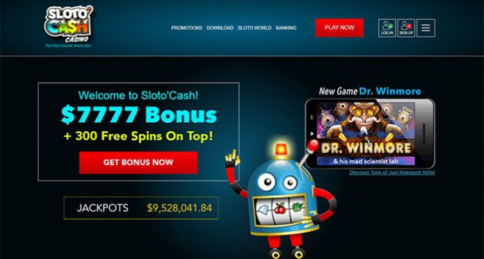 Sloto'Cash Has it All, Play to Win Progressives to Cashbacks