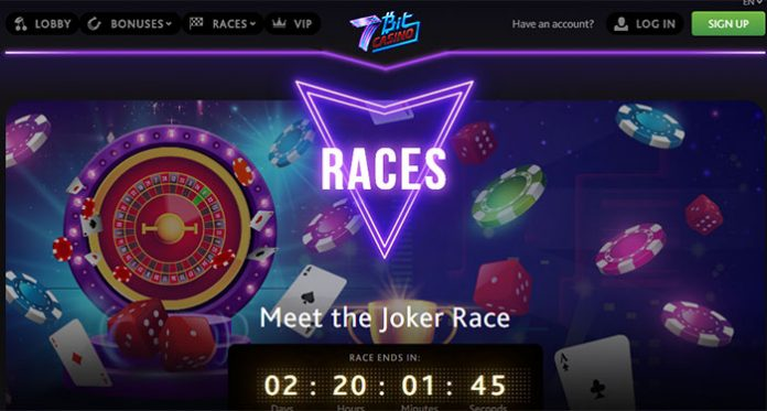 Get Rewarded for Playing Your Favorite Games with 7Bit Joker Races