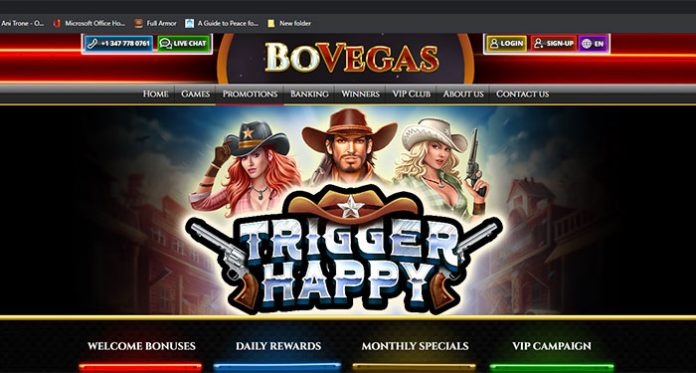 Join BoVegas to Receive Your Daily, Weekly and Monthly Casino Bonuses