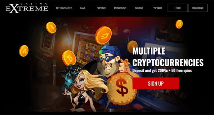 70 Extreme Boost Plus 20 Free Spins at Casino Extreme