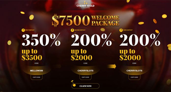 Earn Comp Points and Rewards for Playing at Cherry Gold Casino
