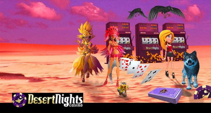 Get 300 Opportunities to Play and Win at Desert Nights Casino