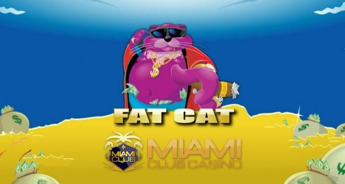Join in on Winning Cash in Miami Club Casinos Fat Cat Slot Tournament