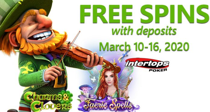 Magical Month at Intertops Poker with Leprechauns, Faeries and Free Spins