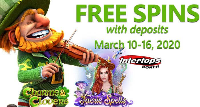 Magical Month At Intertops Poker With Leprechauns Faeries And