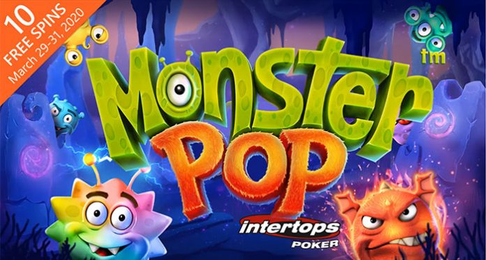Play Betsoft's New Monster Pop at Intertops with 10 Free Spins