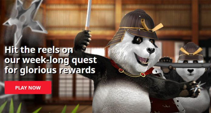 {Play and Win in Royal Panda Casinos Quest of the Phoenix Promo