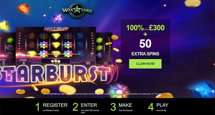 Play WixStars Top Games with a Huge Welcome Bonus