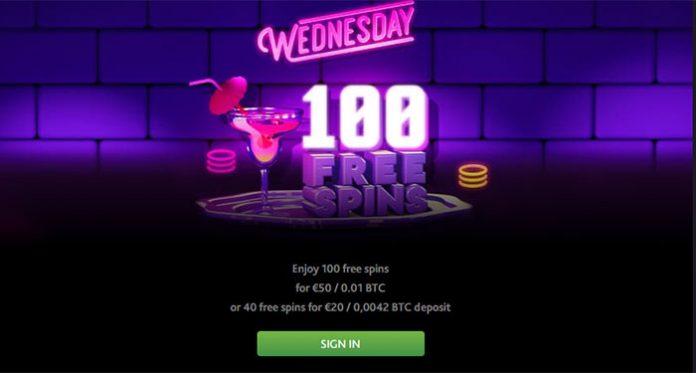 Free Spins Wednesday Returns at 7 Bit Casino