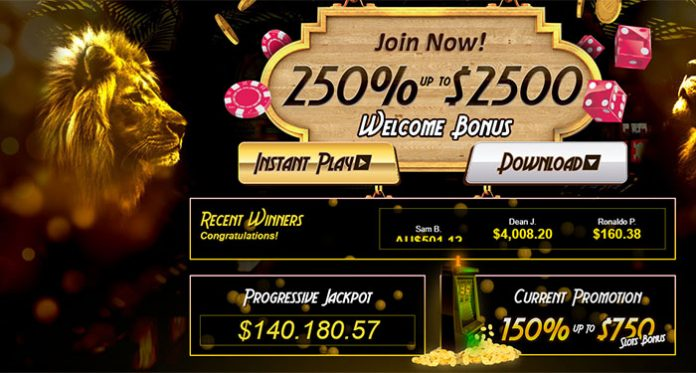 Become Golden Lion Casinos Next Jackpot Winner