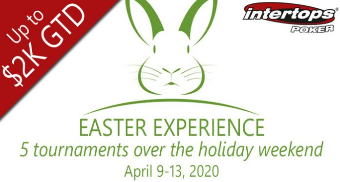 Intertops Poker Mixes it Up for 'Easter Experience' Poker Tournament Series