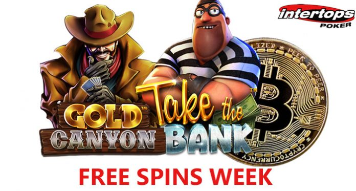 Intertops Poker is Giving Extra Free Spins for Bitcoin Deposits