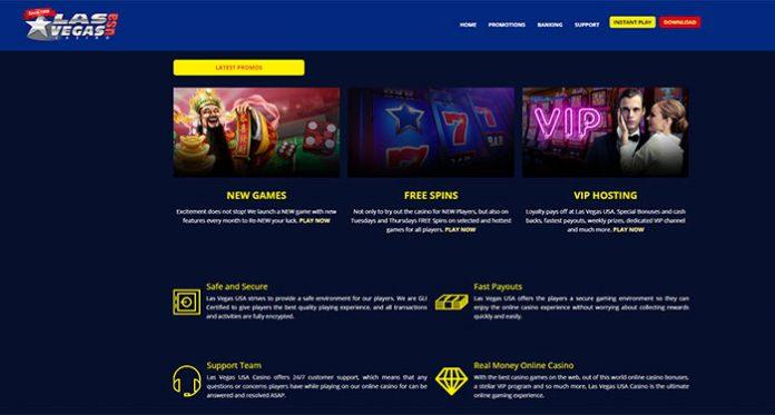 Play Las Vegas USA Online with Top Notch Bonuses and Rewards