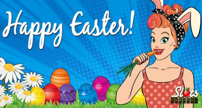 Slots Capital Casino $1500 Easter Bonuses and 100 Spins