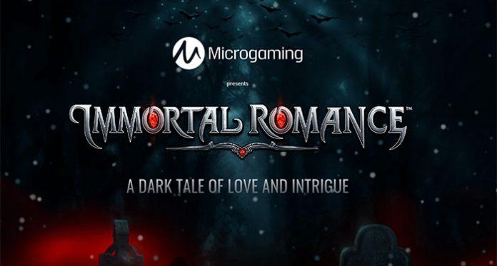 Microgaming Provides a Fresh New Take on Immortal Romance Slot