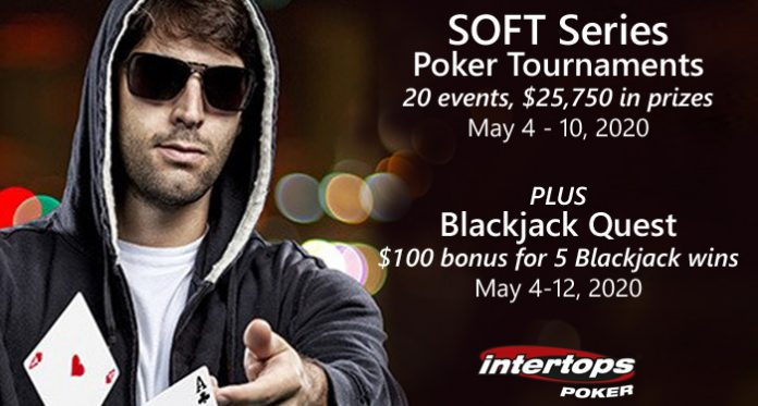 Intertops Poker SOFT Series Starts Today with 2 Freerolls, Ends May 10th