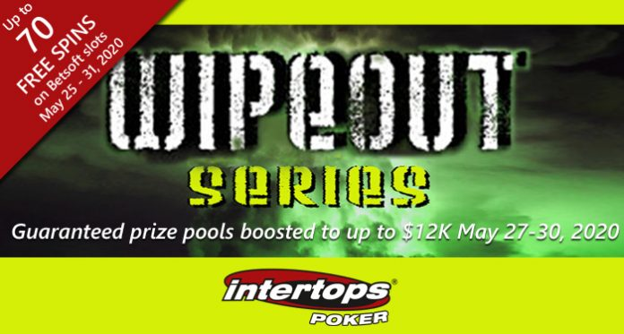 Intertops Poker Increases GTD Prize Pools up to $12K