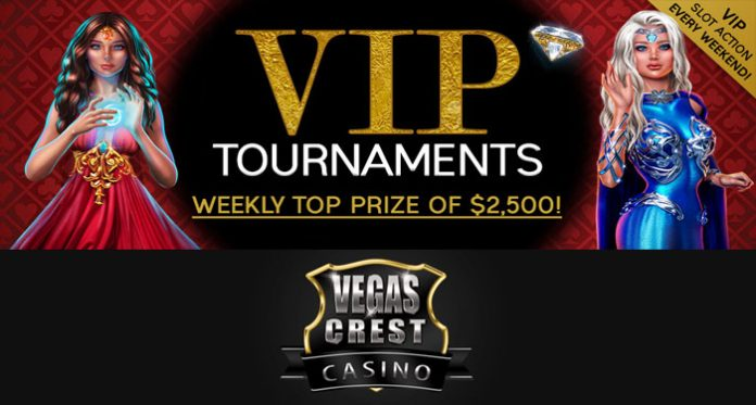 Take Home Some Extra Cash Playing Vegas Crest' VIP Tournaments