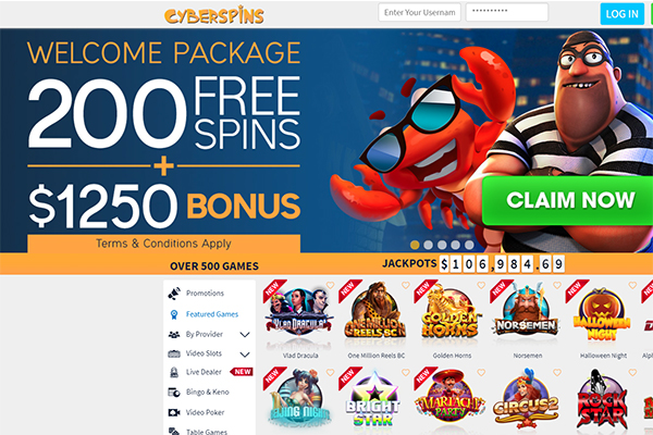 CyberSpins Casino Review